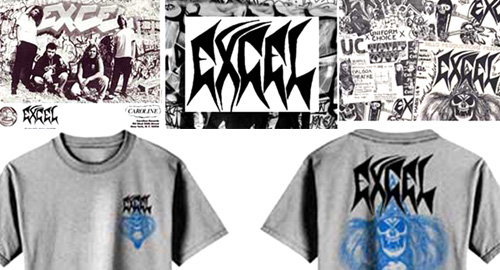 EXCEL オフィシャルTシャツ!