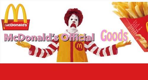 McDonald's オフィシャルグッズ