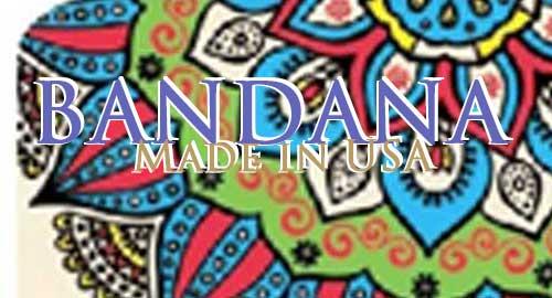 BANDANA Made in USA
